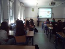 """Alumnado de 4º de ESO en IES """"Seritium"""""""